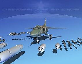 Mig-23 Fighter Ethiopia 3D