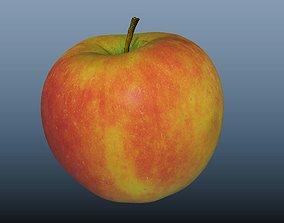 apple fruit sweet 3D model