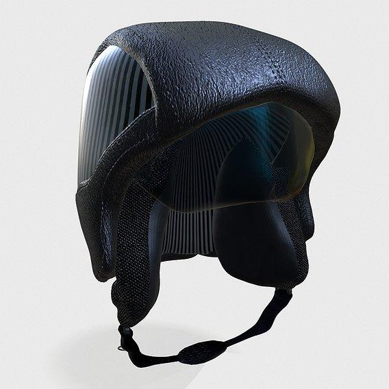 basic biker helmet