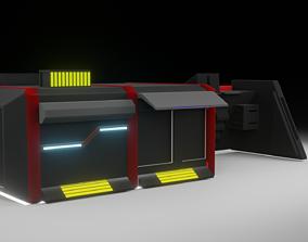 3D model Sci fi storage
