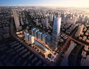 skyscraper Architecture 3D