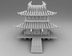 Part 2 - Chinese traditional house 11-17 3D print model 2
