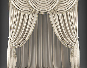 realtime Curtain 3D model 335