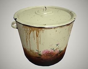 3D model Metal pot