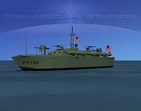 Elco PT Boat PT155 3D model