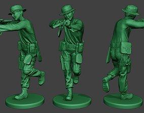 Modern Jungle Soldier Run4 MJS1 3D printable model