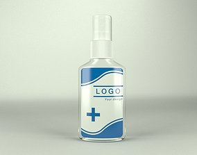 3D model VR / AR ready Spray bottle lotion