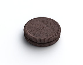 3D subdivide Oreo Cookie