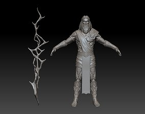 3D model zeus god