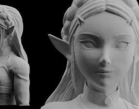 Zelda Breath of the Wild Model files Statue Figure 3D 2