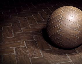 3D model Wooden floor texture set