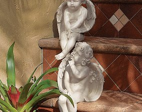 Angels of Meditation and Contemplation 2 Piece 3D asset 1