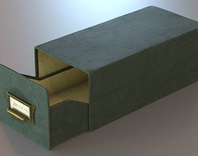 3D Old Archive Box