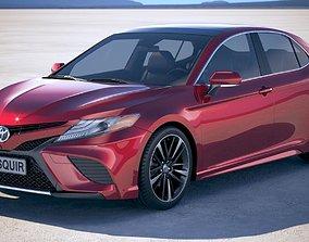 3D model Toyota Camry SE 2018