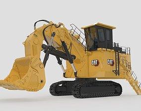 Mining Shovel Excavator 3D model