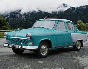 3D GAZ-21 Volga 1958