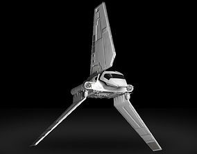 3D model Star Wars Imperial Shuttle