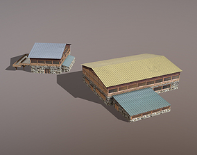 3D model Building Courchevel Building