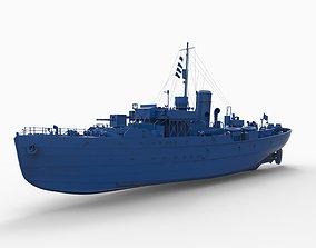 Battleship mod12 3D print model