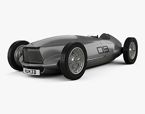 Infiniti Prototype 9 2017 3D model