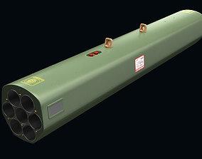 FZ220 Rocket Launcher 3D