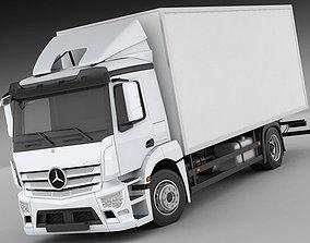 3D Mercedes Antos rigid truck