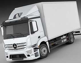 3D Mercedes Antos rigid truck