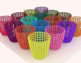 clothes basket 3D model cistern