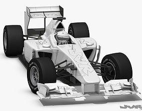 3D model Generic F1 2012 Race Car