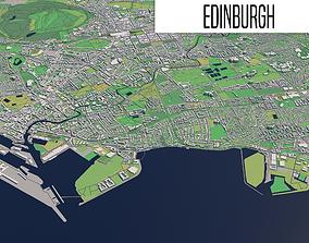 3D model Edinburgh