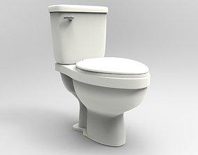 3D asset Toilet