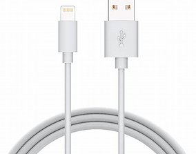 mold Apple lighting cable 3D model