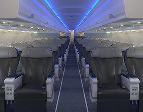 Airbus A 320 First Class 3D