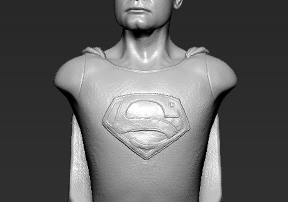 George Reeves bust commission