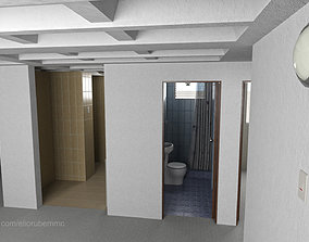 3D asset Basic Apartment 54 square meters