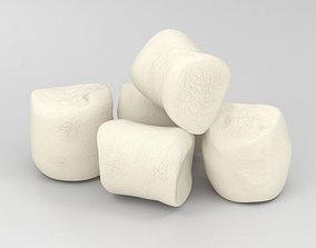 Marshmallow 3D model