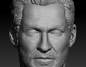 3D print model Tom Ellis aka Lucifer