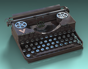 Type Machine 3D asset