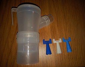 3D print model Nebulizor nozzle for Medel