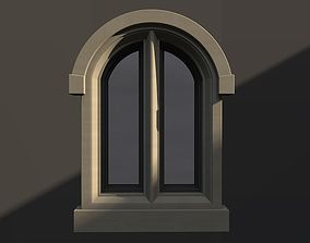 WINDOW arch gothic double 81 3D model window