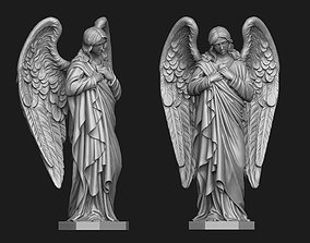 3D print model Angel Of Compassion Statue