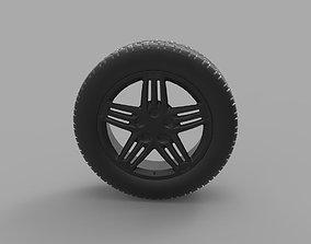 Volkswagen Golf R MkVI 3D print model