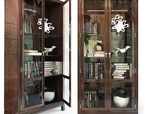 Jason Glass Door Cabinet 3D