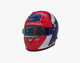3D asset Kvyat helmet 2020