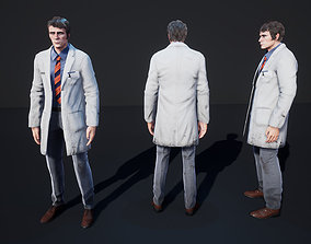 3D model animated Doctor
