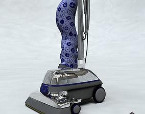 3D Vacuum Cleaner Violet