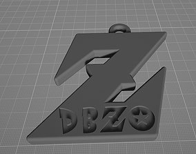 Dragon Ball Z Pendant 3D print model