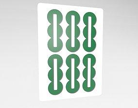Mahjong v1 029 3D asset