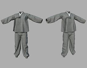 Baji Jeogori Korea Clothing for man 3D asset