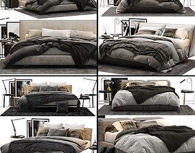 3D model Bed Colection 02